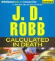 Cover for Calculated in death