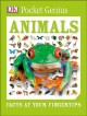 Cover for Animals: facts at your fingertips.