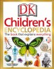 Cover for DK children's encyclopedia: the book that explains everything