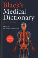 Cover for Black's medical dictionary