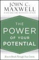 Cover for The Power of Your Potential: How to Break Through Your Limits