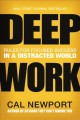 Cover for Deep work: rules for focused success in a distracted world