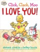 Cover for Click, clack, moo: I love you!