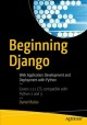Cover for Beginning Django: Web Application Development and Deployment With Python
