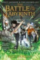 Cover for Percy Jackson and the Olympians 4: The Battle of the Labyrinth