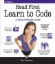 Cover for Head First Learn to Code: A Learner's Guide to Coding and Computational Thi...