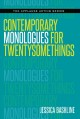 Cover for Contemporary monologues for twentysomethings