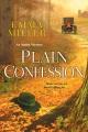 Cover for Plain confession
