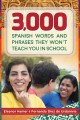 Cover for 3,000 Spanish Words and Phrases They Won't Teach You in School
