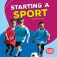 Cover for Starting a sport