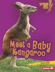 Cover for Meet a baby kangaroo