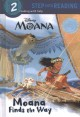 Cover for Moana finds the way