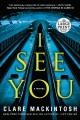 Cover for I see you [Large Print]