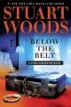 Cover for Below the belt: a Stone Barrington novel