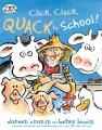Cover for Click, clack, quack to school!