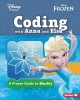 Cover for Coding with Anna and Elsa: a Frozen guide to Blockly