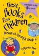 Cover for Best books for children: [preschool through grade 6]. Supplement to the 9th...