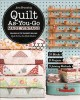 Cover for Quilt as-you-go made vintage: 51 blocks, 9 projects, 3 joining methods