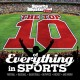 Cover for The top 10 of everything in sports