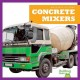 Cover for Concrete mixers