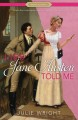 Cover for Lies Jane Austen told me