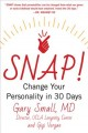 Cover for Snap: Change Your Personality in 30 Days