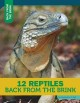 Cover for 12 reptiles back from the brink