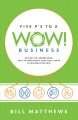 Cover for Five P's to a Wow Business: An Easy-to-understand, Easy-to-implement, Pract...