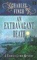 Cover for An extravagant death [Large Print]