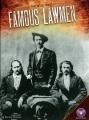 Cover for Famous lawmen