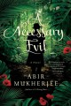 Cover for A necessary evil