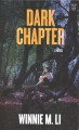 Cover for Dark chapter [Large Print]