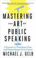Cover for Mastering the Art of Public Speaking: 8 Secrets to Transform Fear and Super...
