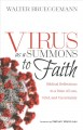 Cover for Virus as a summons to faith: biblical reflections in a time of loss, grief,...