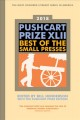 Cover for 2018 Pushcart prize XLII: best of the small presses