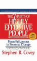 Cover for The 7 habits of highly effective people