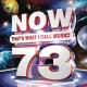 Cover for Now that's what I call music. 73