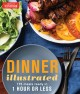 Cover for Dinner illustrated: 175 meals ready in 1 hour or less