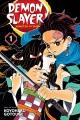 Cover for Demon slayer = Kimetsu no yaiba. Volume 1, Cruelty