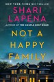 Cover for Not a happy family