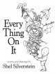 Cover for Every thing on it: poems and drawings