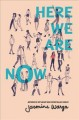 Cover for Here we are now