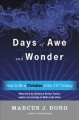 Cover for Days of awe and wonder: how to be a Christian in the twenty-first century