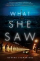 Cover for What she saw