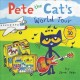 Cover for Pete the cat's world tour