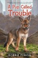 Cover for A pup called Trouble