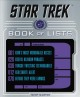 Cover for Star Trek: the book of lists
