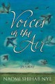 Cover for Voices in the air: poems for listeners