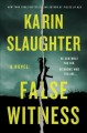 Cover for False Witness
