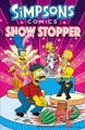 Cover for Simpsons Comics: showstopper
